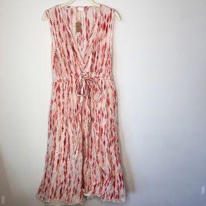 NWT CP Shades Julia Dress -Pink-Cotton Silk-Small